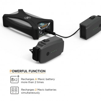 Energen DroneMax M10 - Portable Mavic Pro Battery Charging Station