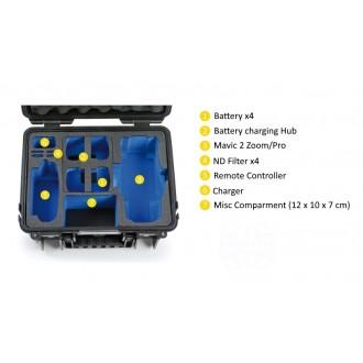 B&W Mavic 2 Combo Case 3000/B/Mavic2