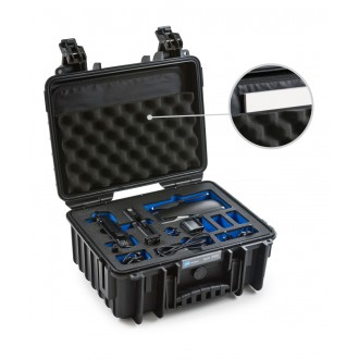 B&W Mavic Air Combo Case 3000/B/MavicA