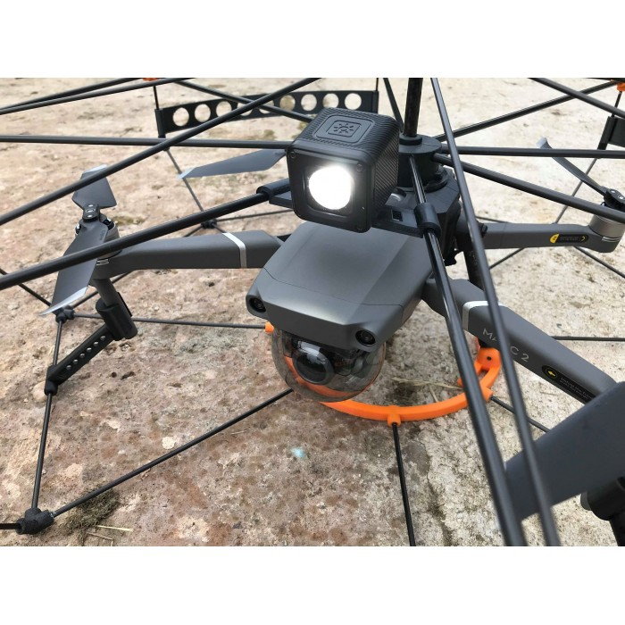 Drone Cage Attachment Mount supports LumeCube Ulanzi RunCam2