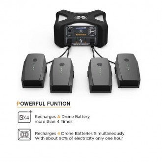 Energen DroneMax A20 Portable Drone Battery Charging Station