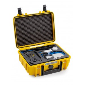 B&W Mavic Mini Combo Case - Durable - Water and Dust Proof Yellow 1000/Y/MavicM