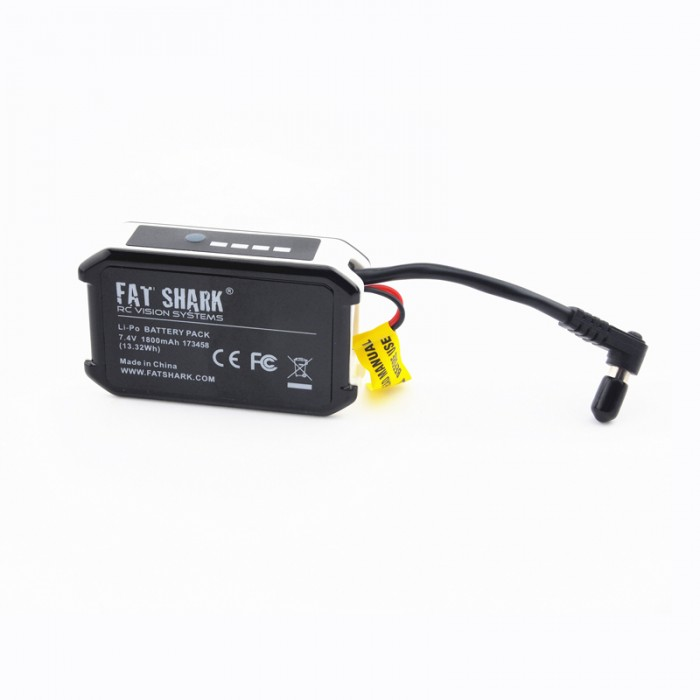 Fat Shark 7.4V 1800mAh High Capacity Battery Pack FSV1803