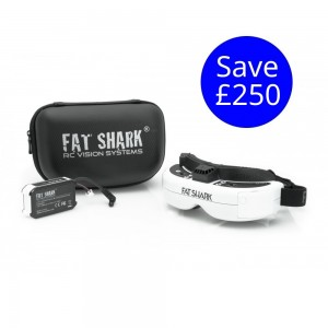 Fat Shark HDO OLED Display with Lipo Battery Pack FSV1122