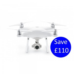 DJI Phantom 4 Advanced Plus with built in screen