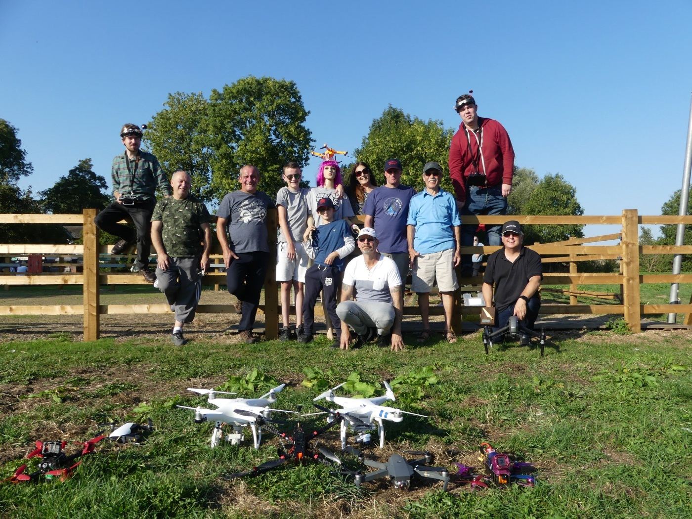 leicester drone club meet at The Gate Hangs Well, Syston